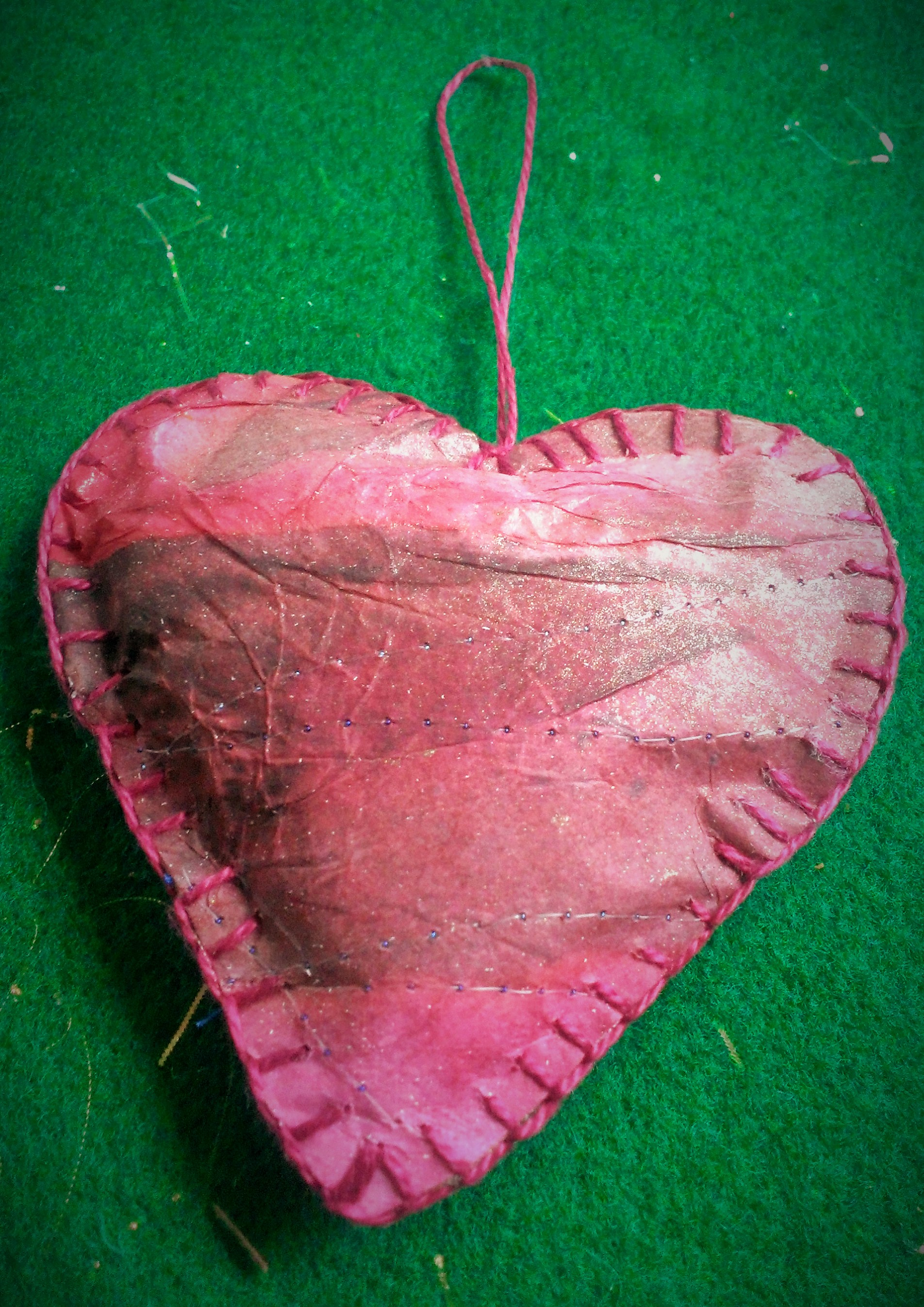 Papercloth Heart